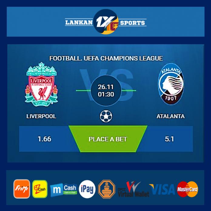 UEFA: ලිවර්පූල් සහ අටලන්ටා අතර තරගය