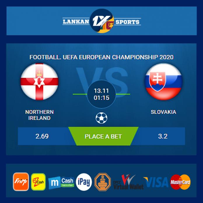 UEFA: උතුරු අයර්ලන්තය සහ ස්ලොවැකියාව අතර තරගය