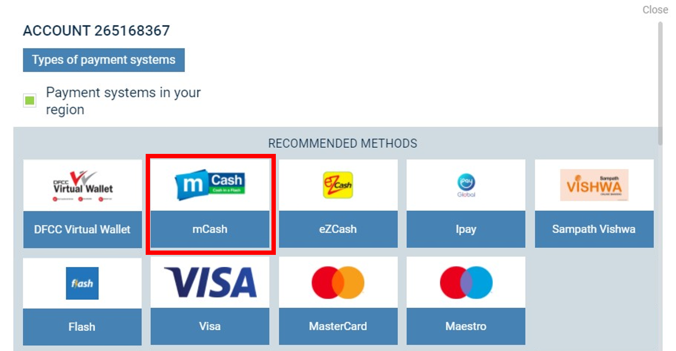 How to Deposit & Withdraw via MCash