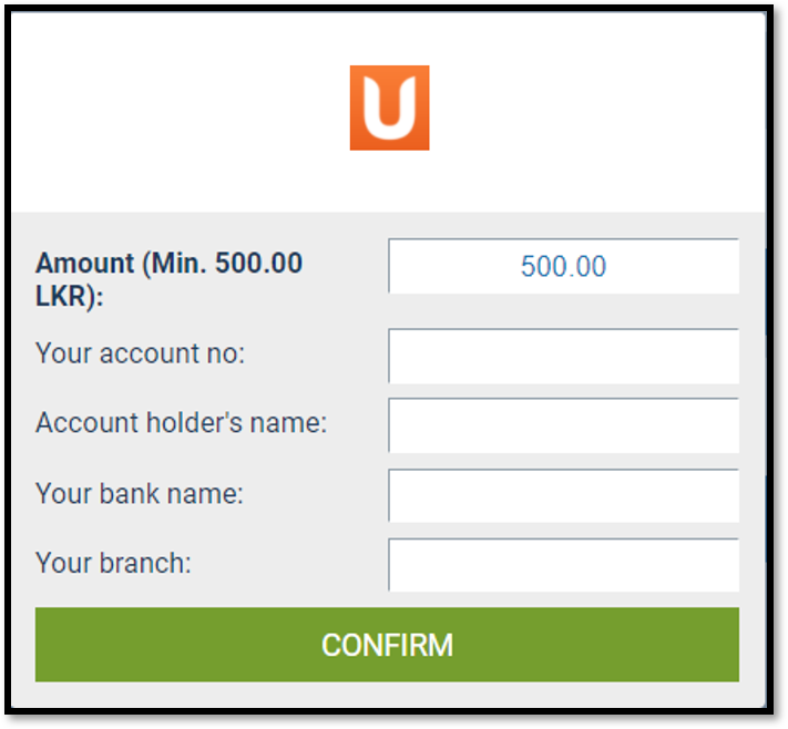 How to Deposit & Withdraw via UPay Sri Lanka
