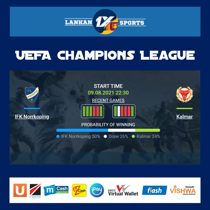 IFK නොර්කොපිං සහ කල්මාර් අතර තරගය
